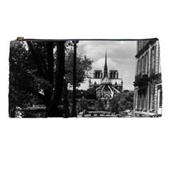 Vintage France Paris Notre Dame Saint Louis Island 1970 Pencil Case by Vintagephotos