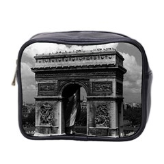 Vintage France Paris Triumphal arch  Place de l Etoile Twin-sided Cosmetic Case
