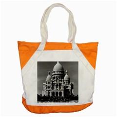 Vintage France Paris The Sacre Coeur Basilica 1970 Snap Tote Bag
