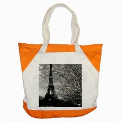Vintage France Paris Eiffel Tour 1970 Snap Tote Bag by Vintagephotos