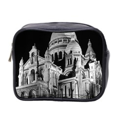 Vintage France Paris The Sacre Coeur Basilica 1970 Twin Sided Cosmetic Case by Vintagephotos