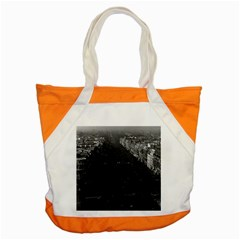 Vintage France Paris Champs Elysees Avenue 1970 Snap Tote Bag by Vintagephotos