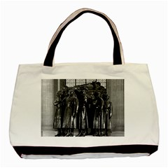 Vintage France Paris  Invalides Marshal Foch Tomb 1970 Black Tote Bag by Vintagephotos