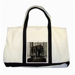 Vintage France Paris  Invalides Marshal Foch Tomb 1970 Two Toned Tote Bag by Vintagephotos