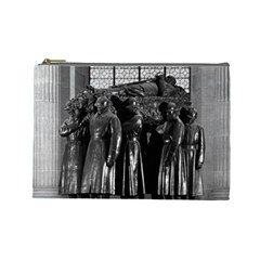 Vintage France Paris  Invalides Marshal Foch Tomb 1970 Large Makeup Purse by Vintagephotos