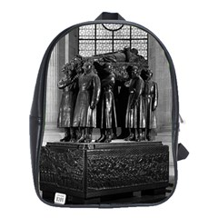 Vintage France Paris  Invalides Marshal Foch Tomb 1970 Large School Backpack by Vintagephotos