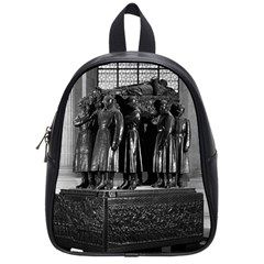 Vintage France Paris  Invalides Marshal Foch Tomb 1970 Small School Backpack by Vintagephotos