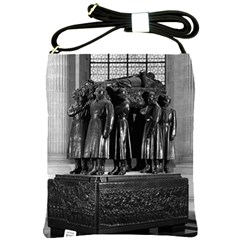 Vintage France Paris  Invalides Marshal Foch Tomb 1970 Cross Shoulder Sling Bag by Vintagephotos