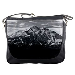 Vintage Usa Alaska Beautiful Mt Mckinley 1970 Messenger Bag by Vintagephotos
