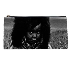 Vintage Usa  Alaska Eskimo Boy 1970 Pencil Case by Vintagephotos