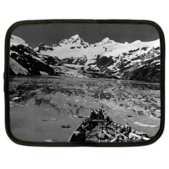 Vintage Alaska Glacier Bay National Monument 1970 12  Netbook Case by Vintagephotos