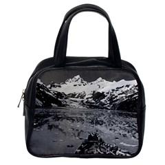 Vintage Alaska Glacier Bay National Monument 1970 Single Sided Satchel Handbag by Vintagephotos