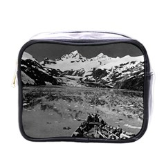 Vintage Alaska Glacier Bay National Monument 1970 Single Sided Cosmetic Case by Vintagephotos