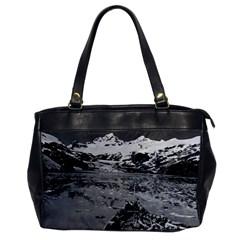 Vintage Alaska Glacier Bay National Monument 1970 Single Sided Oversized Handbag by Vintagephotos