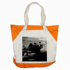 Vintage Usa Alaska Eskimo Hunters 1970 Snap Tote Bag by Vintagephotos