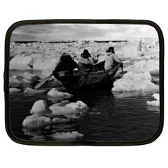 Vintage Usa Alaska Eskimo Hunters 1970 15  Netbook Case by Vintagephotos