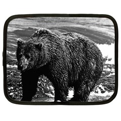 Vintage Usa Alaska Brown Bear 1970 12  Netbook Case