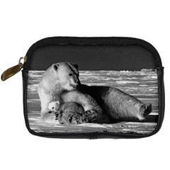 Vintage Usa Alaska Mother Polar Bear 1970 Compact Camera Case
