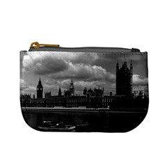 Vintage Uk England London The Houses Of Parliament 1970 Coin Change Purse by Vintagephotos