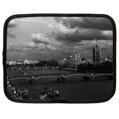 Vintage Uk England London The River Thames 1970 12  Netbook Case by Vintagephotos