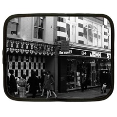 Vintage Uk England London Shops Carnaby Street 1970 13  Netbook Case by Vintagephotos