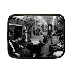 Vintage Uk  England Railway Inside Coach 1970 7  Netbook Case by Vintagephotos