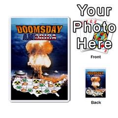 Doomsday America Ufo 1 By Geni Palladin   Playing Cards 54 Designs   Fldd7aghadha   Www Artscow Com Back