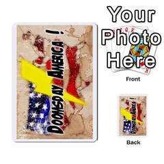 Doomsday America 2 By Geni Palladin   Playing Cards 54 Designs   Ddlfj5r4ysq3   Www Artscow Com Back