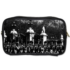 Vintage England London Changing Guard Buckingham Palace Single Sided Personal Care Bag by Vintagephotos