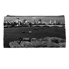 Vintage Uk England River Thames London Skyline City Pencil Case by Vintagephotos