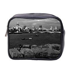 Vintage Uk England River Thames London Skyline City Twin Sided Cosmetic Case by Vintagephotos