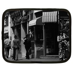 Vintage Uk England London Shops Carnaby Street 1970 15  Netbook Case by Vintagephotos