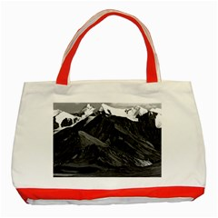 Vintage Usa Alaska Mt Mckinley National Park 1970 Red Tote Bag by Vintagephotos