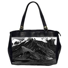 Vintage Usa Alaska Mt Mckinley National Park 1970 Twin Sided Oversized Handbag by Vintagephotos