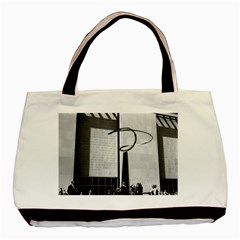 Vintage Usa Washington History & Technology Museum 1970 Black Tote Bag