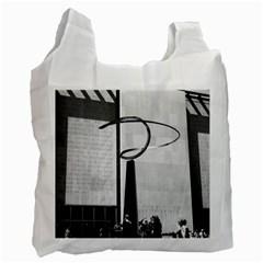 Vintage Usa Washington History & Technology Museum 1970 Twin Sided Reusable Shopping Bag