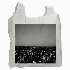 Vintage Usa Washington City Overview 1970 Single Sided Reusable Shopping Bag