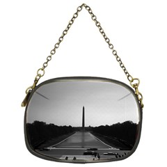 Vintage Usa Washington Monument 1970 Twin Sided Evening Purse by Vintagephotos