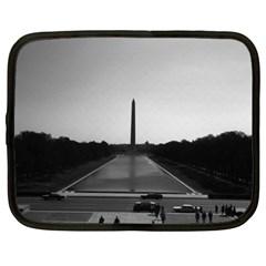 Vintage Usa Washington Monument 1970 13  Netbook Case