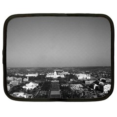 Vintage Usa Washington Capitol Overview 1970 12  Netbook Case by Vintagephotos