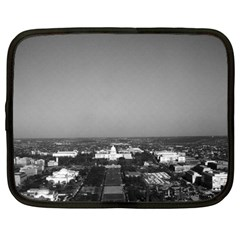 Vintage Usa Washington Capitol Overview 1970 13  Netbook Case by Vintagephotos