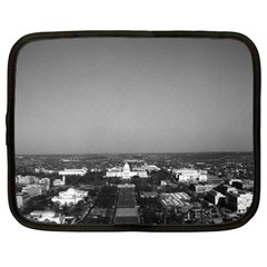 Vintage Usa Washington Capitol Overview 1970 15  Netbook Case by Vintagephotos
