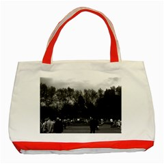Vintage Usa Washington Park 1970 Red Tote Bag by Vintagephotos