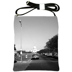 Vintage Usa Washington The Capitol 1970 Cross Shoulder Sling Bag
