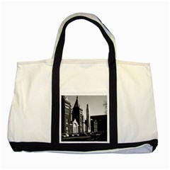 Vintage Usa Washington National Air Space Museum 1970 Two Toned Tote Bag
