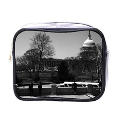 Vintage Usa Washington The Capitol 1970 Single Sided Cosmetic Case
