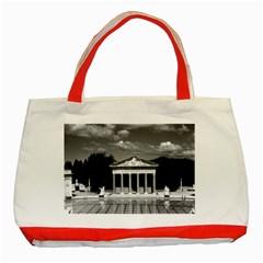 Vintage Usa California San Simeon Neptune Pool 1970 Red Tote Bag by Vintagephotos