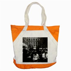 Vintage Usa New York Rockefeller Center 1970 Snap Tote Bag