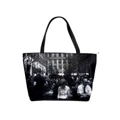 Vintage Usa New York Rockefeller Center 1970 Large Shoulder Bag by Vintagephotos