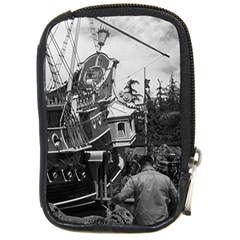 Vintage Usa California Disneyland Sailing Boat 1970 Digital Camera Case by Vintagephotos